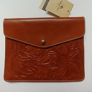 Patrica Nash Handcrafted Italian Leather Clutch